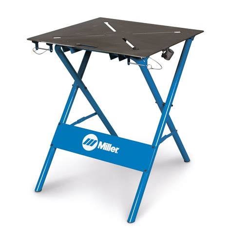miller welding bench miller 30fx folding arcstation work bench with 2 x cls