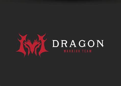 dark dragon logo vector graphic cloud