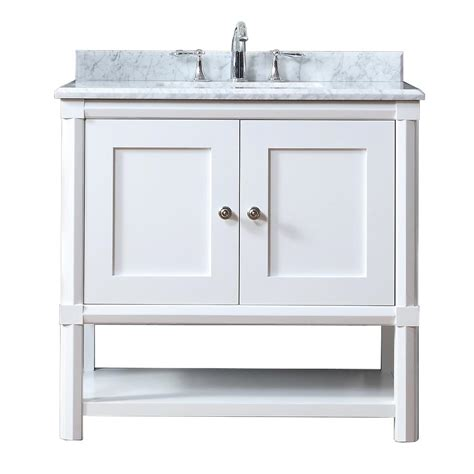 Martha Stewart Bathroom Vanity by Martha Stewart Living Sutton 36 In W X 22 In D Vanity In