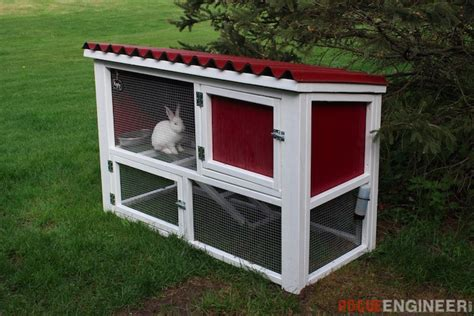 Garage Shop Designs by Diy Rabbit Hutch Plans Free Amp Easy Rogue Engineer