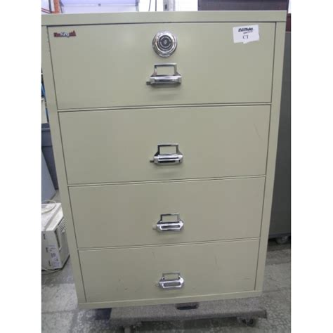 proof file cabinet fireking 4 drw lateral proof file cabinet combo allsold ca buy sell used office