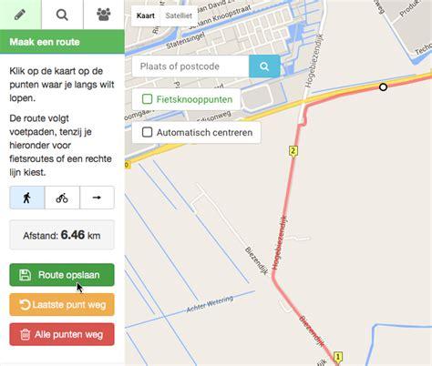 design route google maps een wandelroute uitstippelen met google maps pagina 2