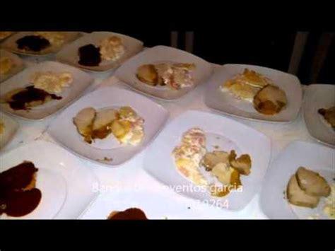 platos para banquetes cenas formales banquetes buffet emplatado plato volado