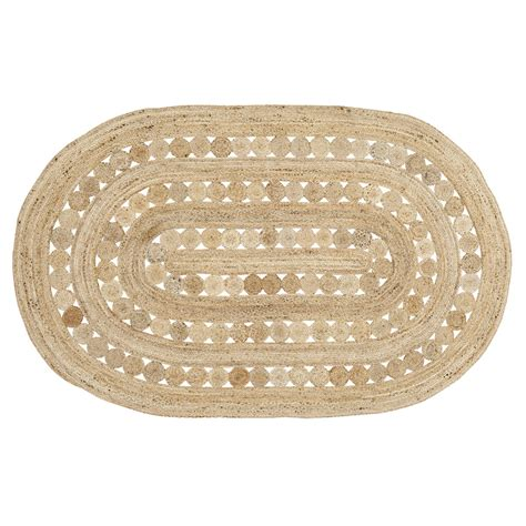 10 foot oval rug celeste 8 foot oval jute rug by vhc brands the patch