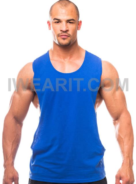 body builder with pixie cut muscle cut workout scoop neck top with open sides made in