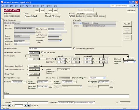 microsoft access mobile ms access bespoke business administration customised