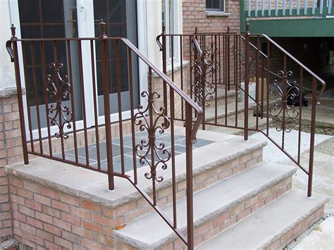 exterior railings iron work expo and design center in