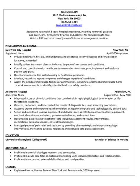 registered nurse sample resume lovely unique rn resume sample eviosoft