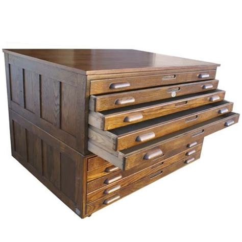 vintage flat file cabinet furniture fashionblast from the past 10 flat file cabinets
