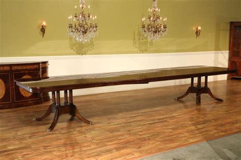 mahogany dining room table custom american made mahogany dining room table