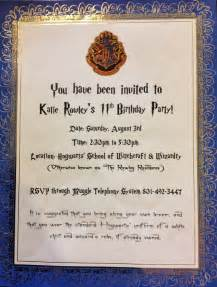 top 18 harry potter birthday invitations theruntime