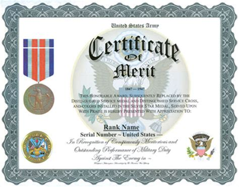 certificate  merit display recognition