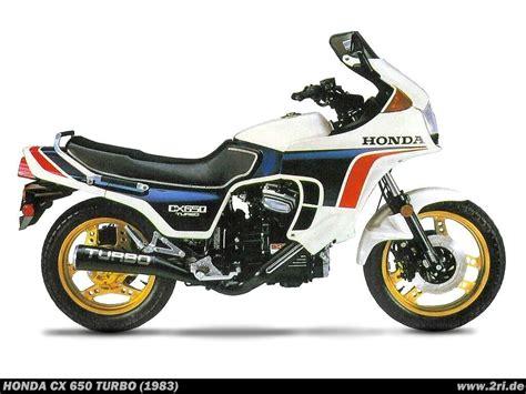 Motorrad Honda Turbo by Honda Cx 650 Turbo Technische Daten Des Motorrades
