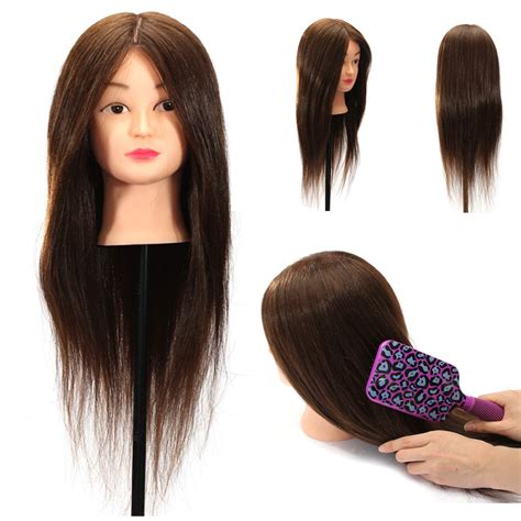 Hair Mannequin Heads Real Hair by 24 Quot 100 Real Human Hair Practice Mannequin