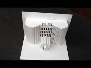 3D Building Pop Up Paper Tutorial #2   Origamic