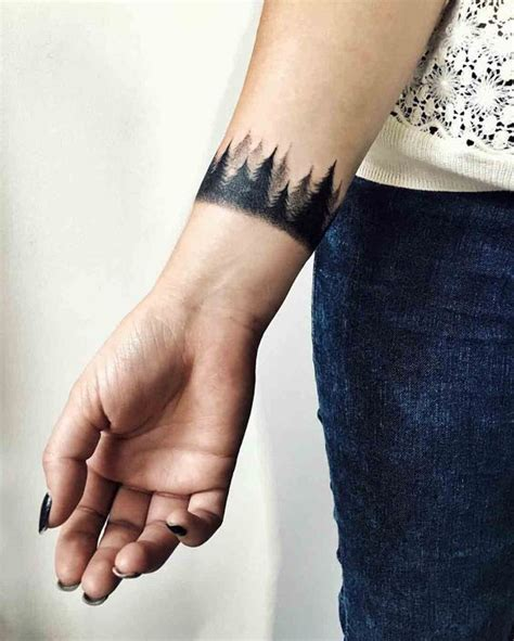 all around wrist tattoos around wrist tattooideen forests