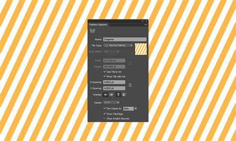 seamless pattern on illustrator how to create a seamless diagonal pattern in illustrator