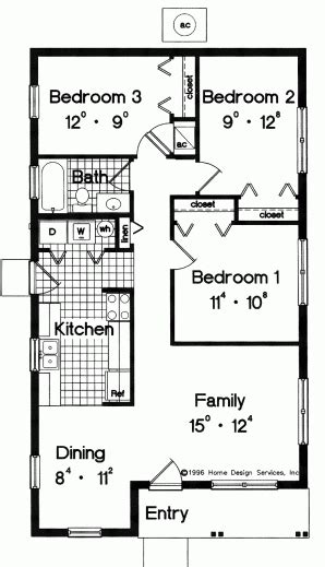 simple house floor plans with measurements simple house floor plan with measurements house floor plans