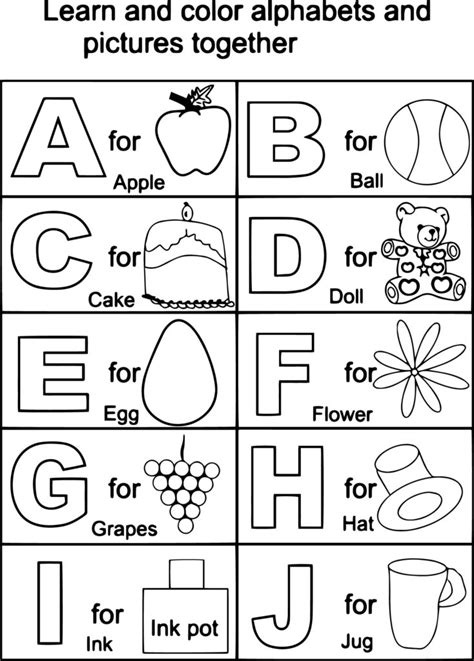 free alphabet coloring pages a z coloring pages alphabet az photo 49856 gianfreda net