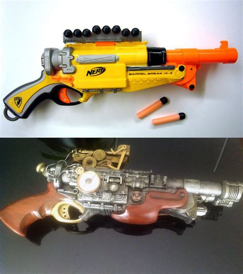 Lackieren Anleitung Pistole by Amazing Mod Almost Unrecognizable Barrel Break Nerf Gun