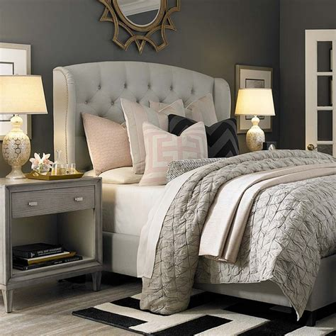 gray white and pink bedroom the trendiest bedroom color schemes for 2016