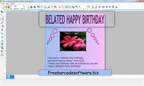 greeting cards software greeting card software free