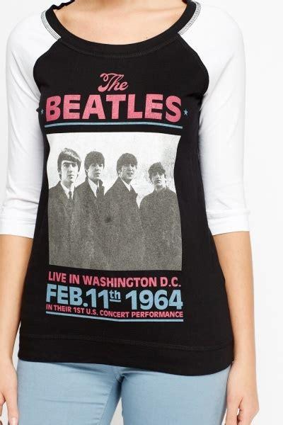 Tshirt The Beatles 5 beatles sleeve t shirt just 163 5