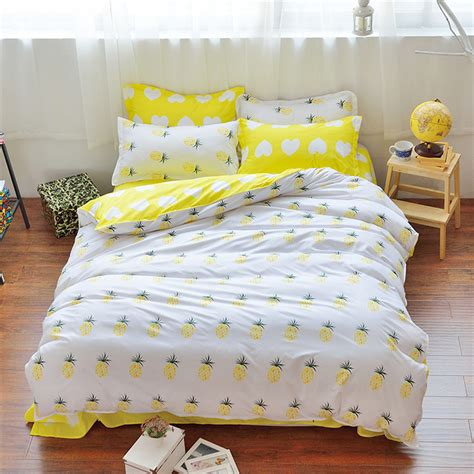 white yellow king obi yko 02 plain hotel quilt cover promotion shop for promotional