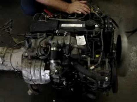 mazda rf turbo rwd diesel engine s n 570157