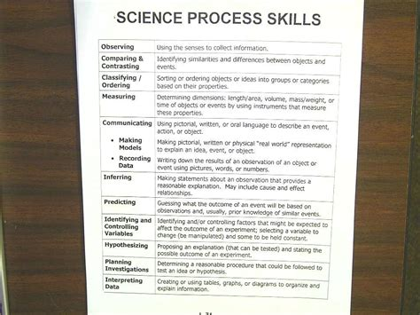 Science Process Skills Worksheets Printable by Uncategorized Science Skills Worksheets Klimttreeoflife