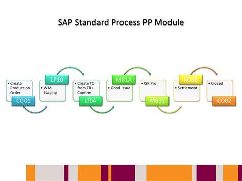 sap tutorial on pp module processing standard sap pp module