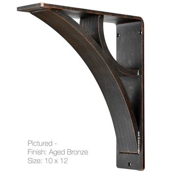 Structural Corbels Eclipse Wrought Iron Corbel 3 In Wide 6 Sizes 4 Finish