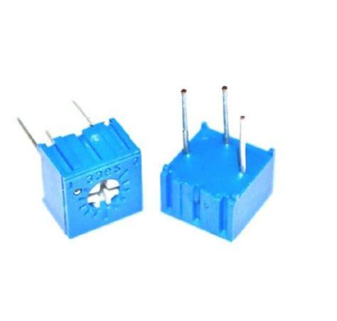 variable resistor 502 10pcs 3362p 502 3362 p 5k ohm high precision variable resistor potentiometer