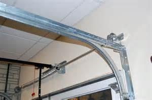 Garage Door Vertical Track Lowes Tips To Repair A Bent Garage Door Track