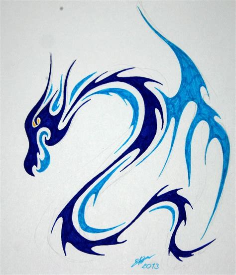 water dragon tattoo designs 20 tribal water tattoos