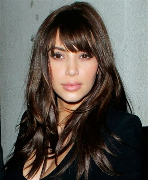 cortes pelo largo 2014 moda cabellos cortes de pelo largo con flequillo 2014