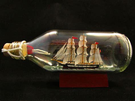 Handmade Bottles - uss constitution 330ml bottle hanseatictrades