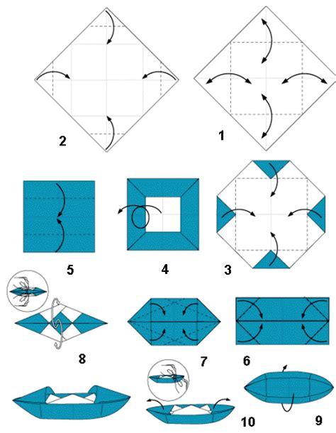 Origami Kapal Boat - tutorial origami kapal