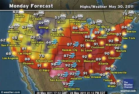 weather map of us for this weekend memorial day forecast surf and snow both as the summer
