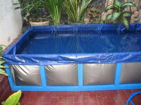 Harga Terpal Kolam Ukuran 4 6 membuat media kolam terpal untuk budidaya lele danausaha