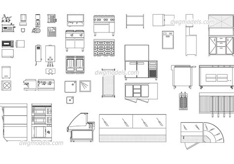 Construction Plan Symbols by Bar Supplies And Equipment Dwg Free Cad Blocks Download