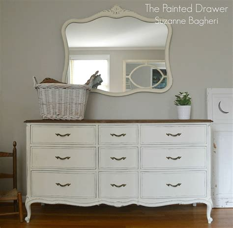 chalk paint ideas dresser hometalk a vintage drexel heritage set in white