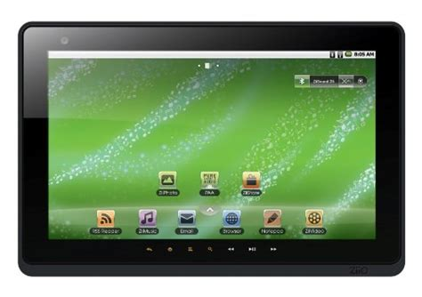 2 10 Inch Second creative ziio 16 gb 10 inch android 2 2 wireless