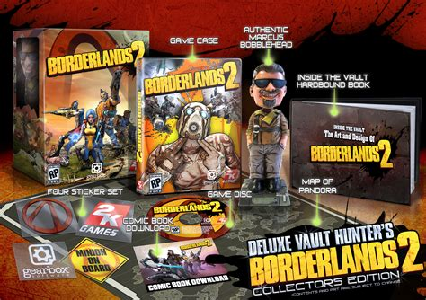 borderlands 2 bobblehead borderlands 2 collector s editions and pre order bonus