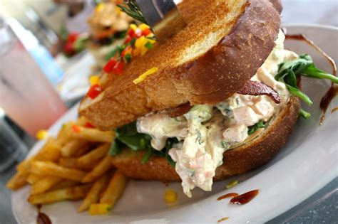 hash house a go go chicago the real chicago chicago s signature dishes the chicken salad sandwich and crab