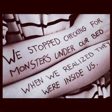 second hand tattoo beds scary monsters monster house pinterest scary