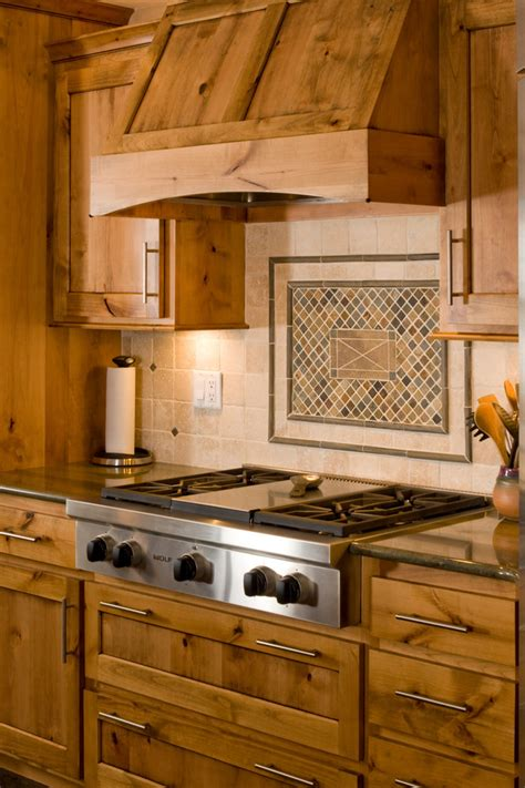How To Install Kitchen Backsplash Tile wood range hoods kitchen traditional with cooktop hood