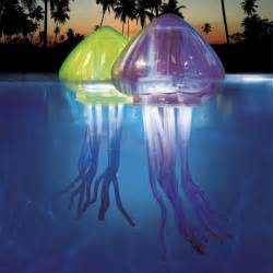 Garage Design Software floating jellyfish pool lights the green head