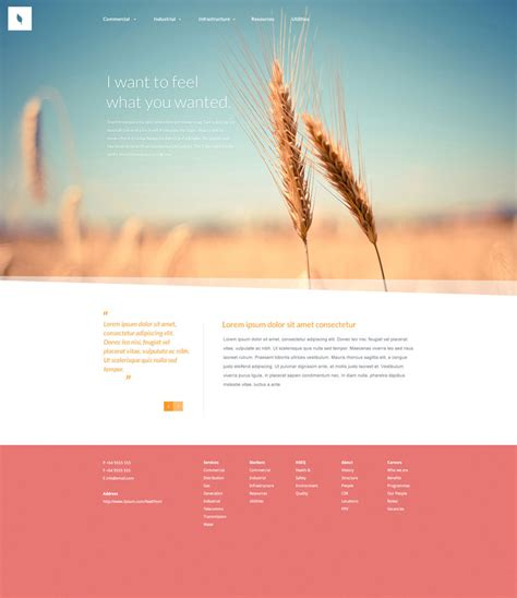 organic psd web template freebiesxpress