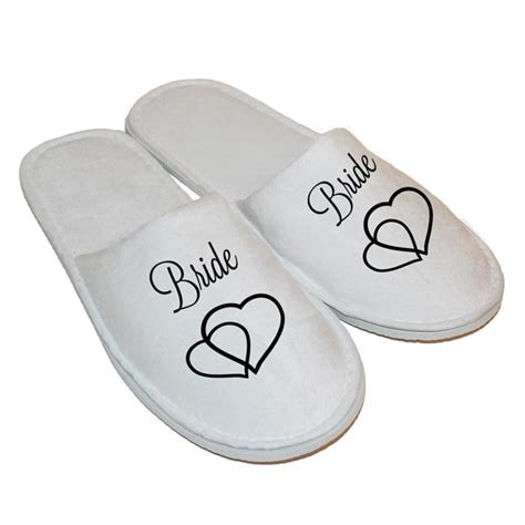 personalised slippers personalised slippers gift for your wedding
